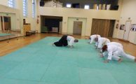 Training beim Aikido