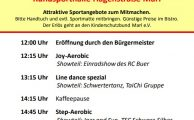 17. Marler Frauensporttag am 18. Februar 2018