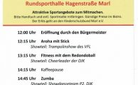 18. Marler Frauensporttag am 17. Februar 2019